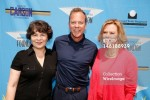 Executive Director of the SAG Foundation Jill Seltzer, Kiefer Sutherland and JoBeth Williams