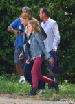 FLYNET - Kiefer Sutherland And Maria Bello Film Scenes For The Hit Tv Show 'Touch' In Los Angeles