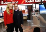 Lindsey Vonn and Kiefer Sutherland appear on NBC News' 'Today' show