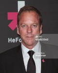 SEPTEMBER 20: Actor Kiefer Sutherland attends the UN Women's 'HeForShe' VIP After Party at The Peninsula Hotel on September 20, 2014 in New York City