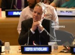 Kiefer Sutherland attends the Launch of the HeForShe Campaign September 20, 2014 at the United Nations in New York.