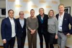 Stephen Friedman, Jess Cagle, Kiefer Sutherland, Joel Schumacher, Anne Chaisson and Jeffrey Sharpe