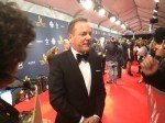 by @ETCanada.@Academy_NET presenter, @RealKiefer, having a good time on the red carpet! #CDNscreen15