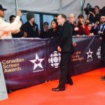 Taking a moment to greet his fans. Kiefer Sutherland was lovely. #kiefersutherland #CdnScreen15 #csas #toronto #canada by taropr