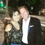 By susieqpeacock Tonight I danced with, got hugged by, kissed by, complimented by Mr. Kiefer Sutherland. My life is made. #RBarorGTFO
