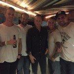 by tyler harms Fun hangs with Keifer last night! #jackbauer #keifersutherland #keifersutherlandband #pappyandharriets