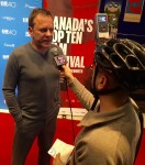 @DamnitMaurie Chatting with @RealKiefer at @TIFF_NET for @KiSS925