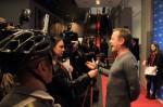 Kiefer Sutherland at Bell Lightbox. #cbcnewsarts @TBCvideographer