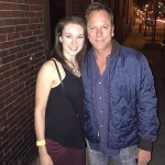 When you meet your literally ALL time favorite actor turned musician and he's beyond kind and thoughtful suddenly all is well #kiefersutherland by @laurajoi