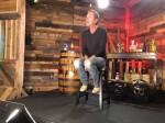 Kiefer Sutherland in Nashville ..on Ch 4 News  by Jimmy Carter