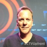 The Commander in Chief has arrived. #DesignatedSurvivor's @RealKiefer is at the #CTVUpfront