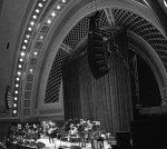 Beautiful venue for #annarborfolkfestival Hill Auditorium @annarborark sneak peek backstage3