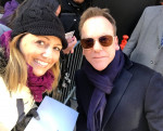 Nice surprise 2 meet 1 of my #celebrity #crushes. @RealKiefer
